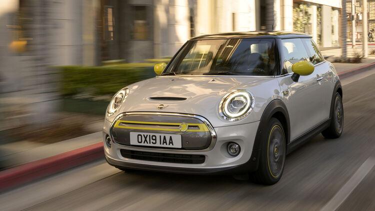 Mini Cooper Se Mini Unter Strom Kostet Ab 32 500 Euro Auto Motor Und Sport