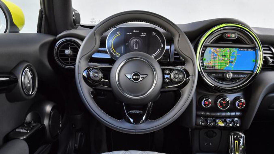 Mini Cooper SE, Interieur