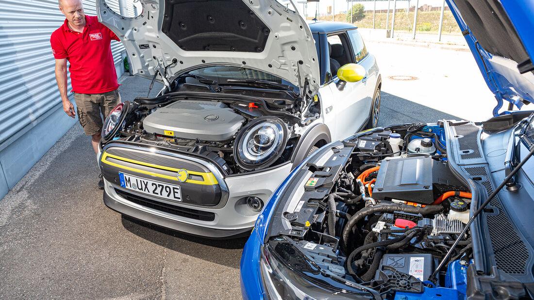 Mini Cooper SE, Opel Corsa-e, Exterieur