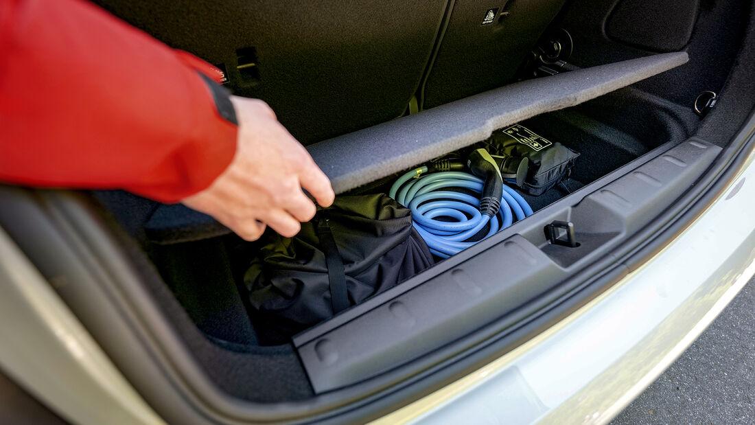 Mini Cooper SE Trim XL, Kofferraum
