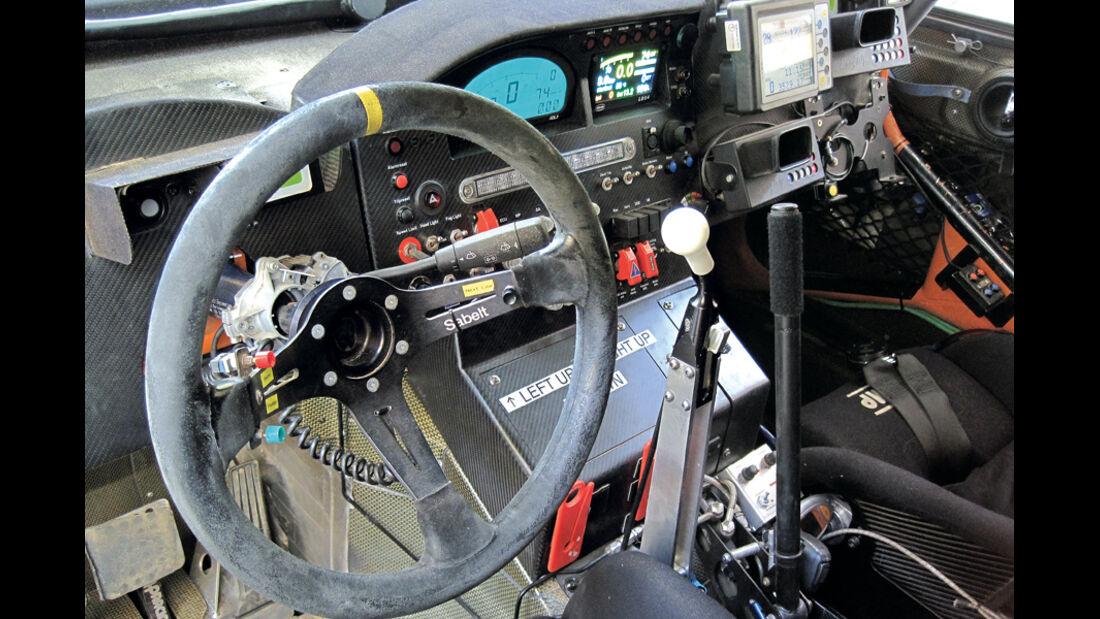 Mini Countryman All4, Dakar Rallye, Cockpit