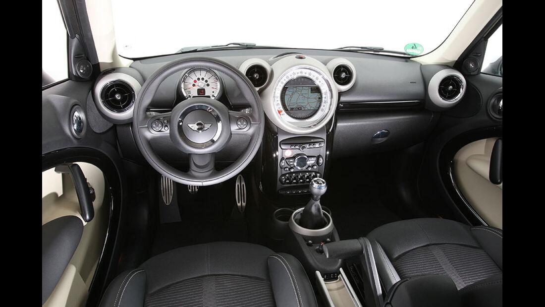 Mini Countryman, Cockpit