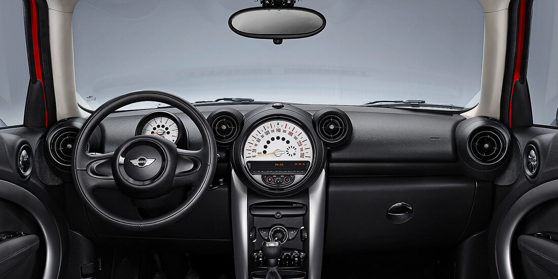 Mini Countryman, Cockpit