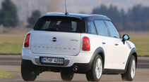 Mini Countryman Cooper D All4, Heckansicht