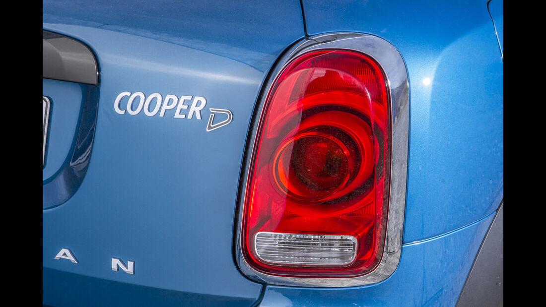 Mini Countryman Cooper D, Rückleuchte