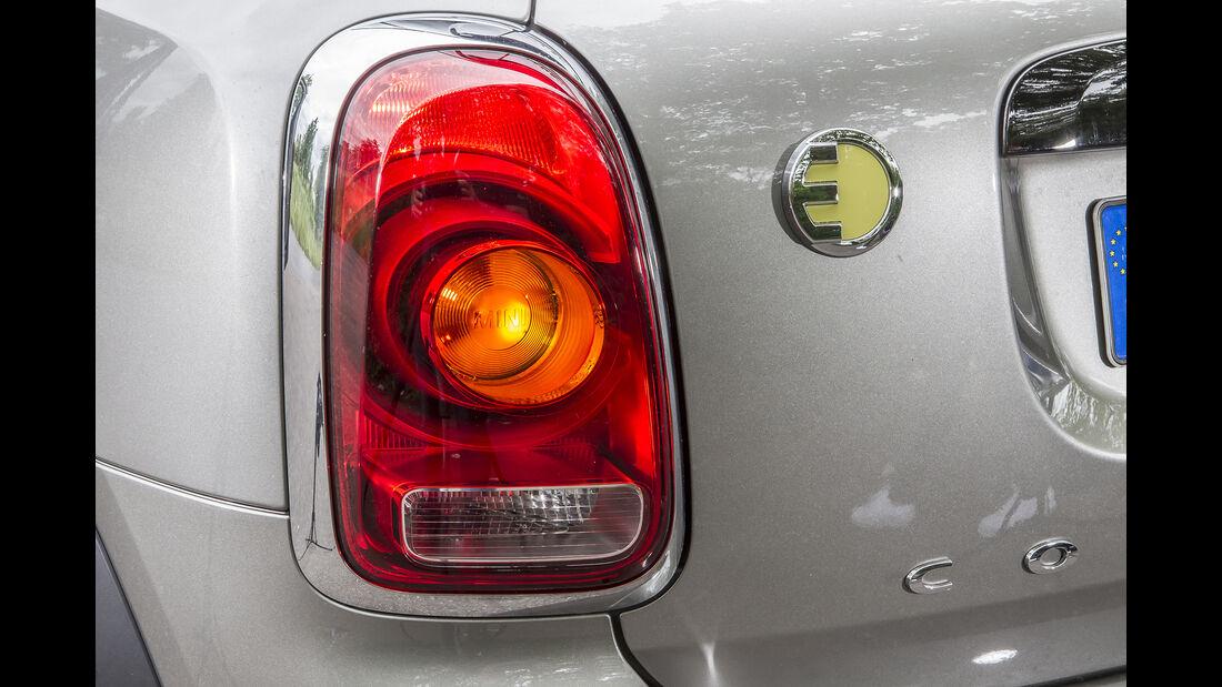 Mini Countryman Cooper S E, Exterieur, Heck, Rückleuchte