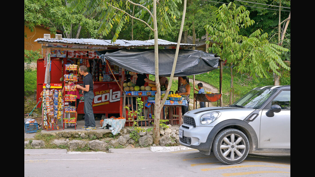 Mini Countryman Cooper S, Kiosk