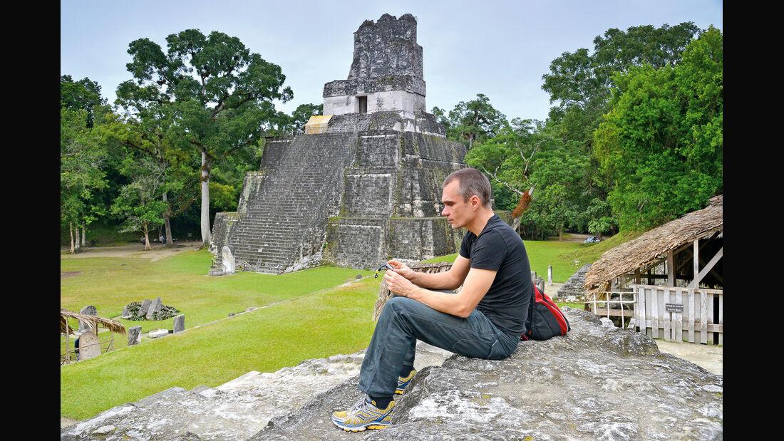 Mini Countryman Cooper S, Maya-Tempel, Jörn Thomas