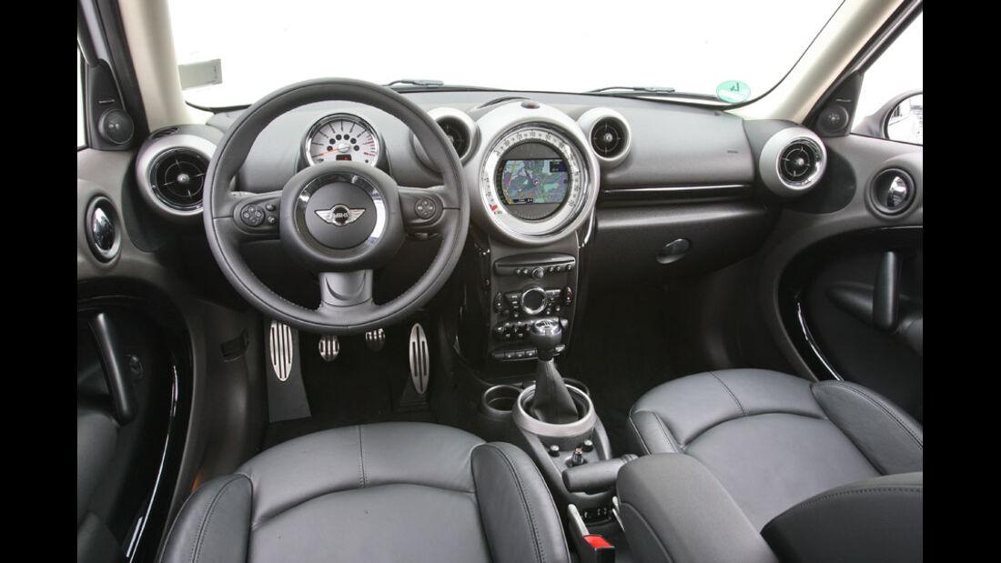 Mini Countryman, Innenraum, Cockpit