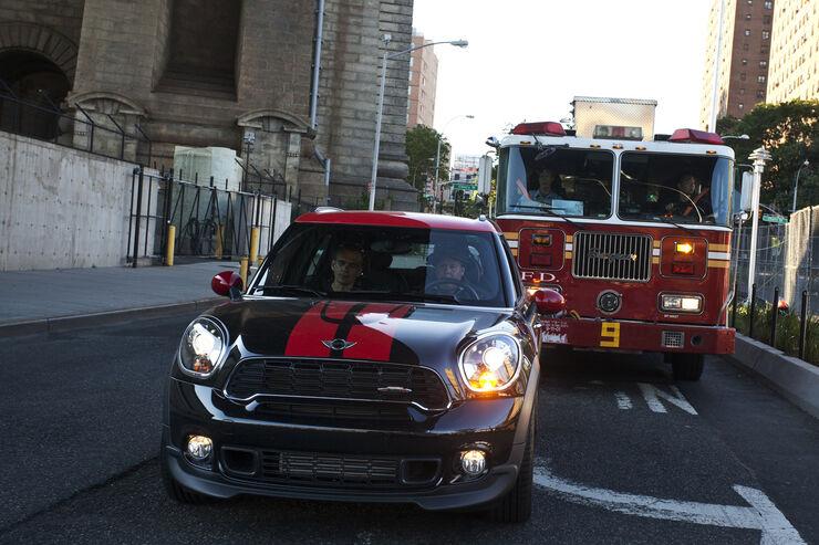 Mini Countryman JWC, Feuerwehrauto