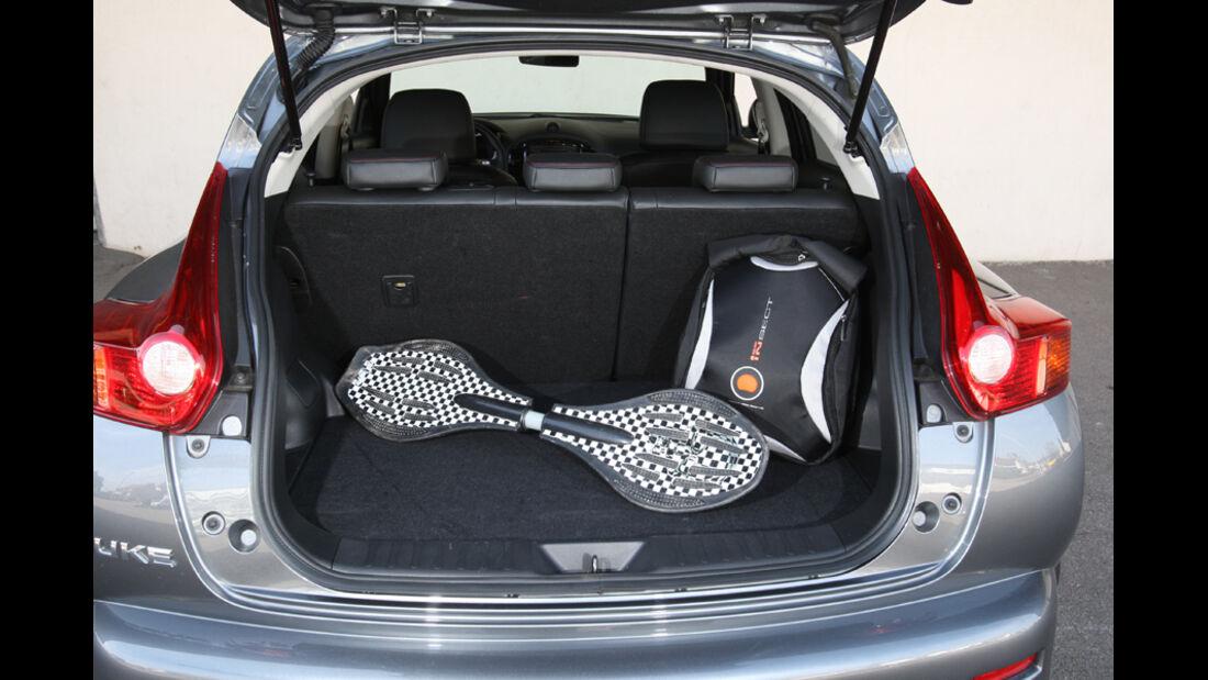 Mini Countryman One, Nissan Juke 1.6, Skoda Yeti 1.4 TSI