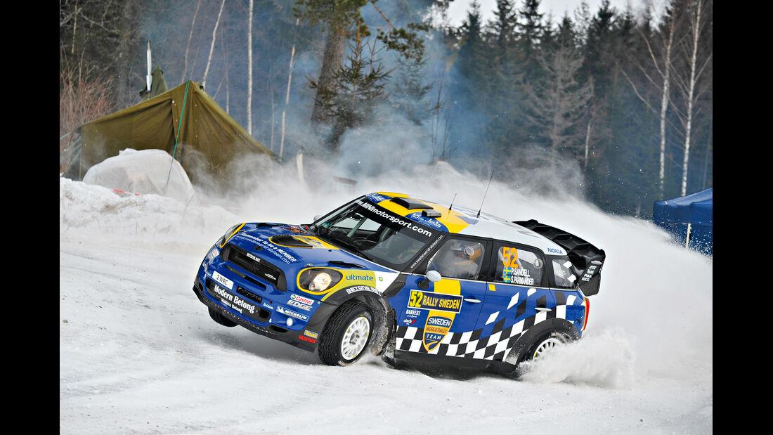Mini Countryman, Rallye