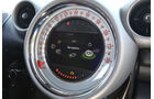 Mini Countryman, Rundinstrument, Tacho