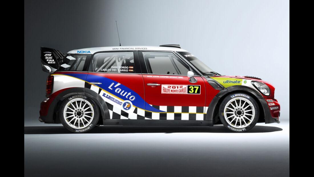 Mini Countryman WRC 2012