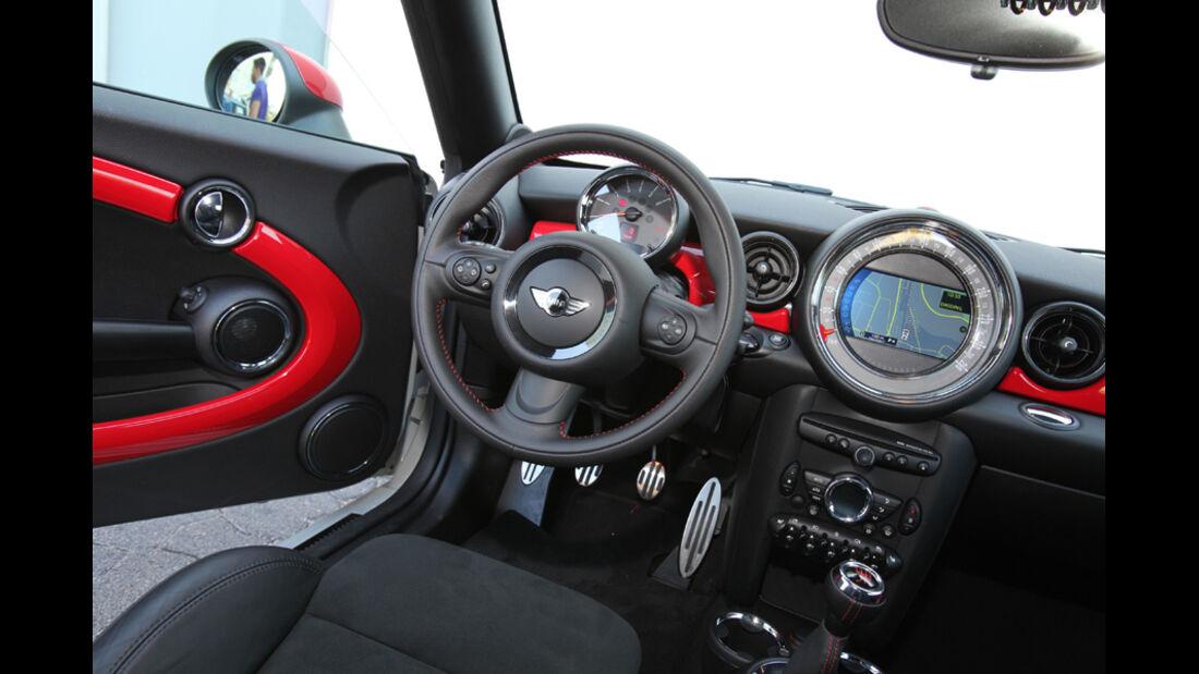 Mini Coupe Cooper Works, Innenraum