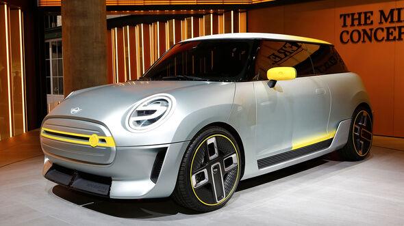 Mini E Concept IAA 2017
