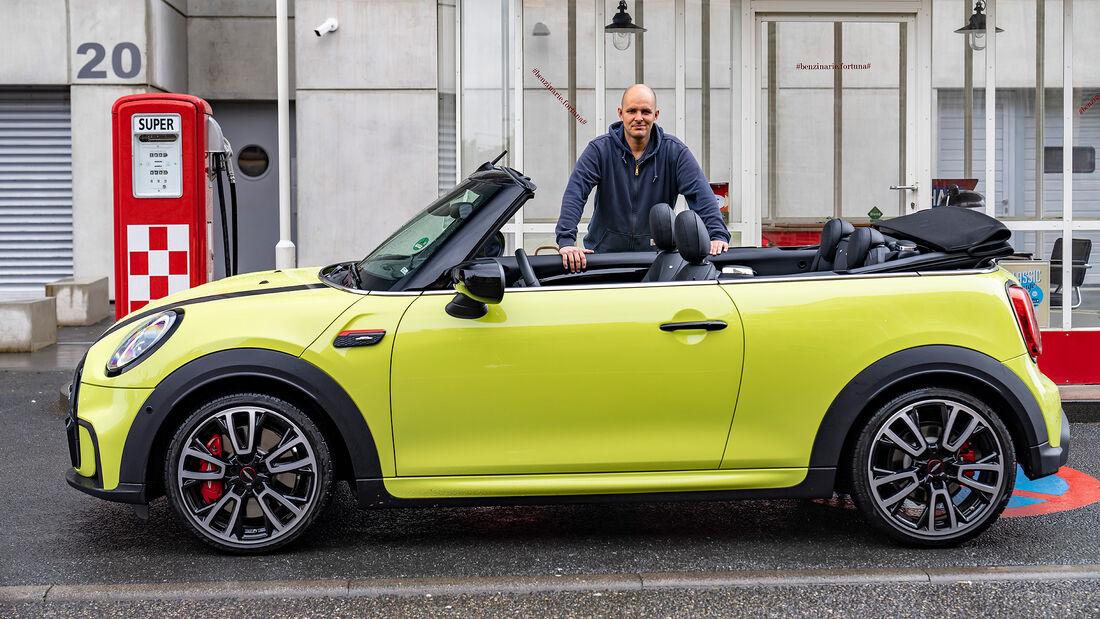 Mini Facelift 2021, Mini JCW Cabrio, Fahrbericht