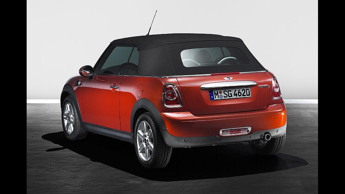 Mini Facelift, Mini Cooper D Cabrio