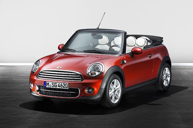 Mini Facelift, Mini Cooper D Cabrio
