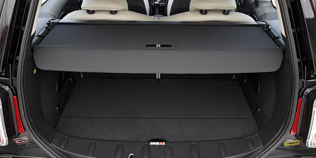 Mini Facelift, Mini Cooper S Clubman, Kofferraum