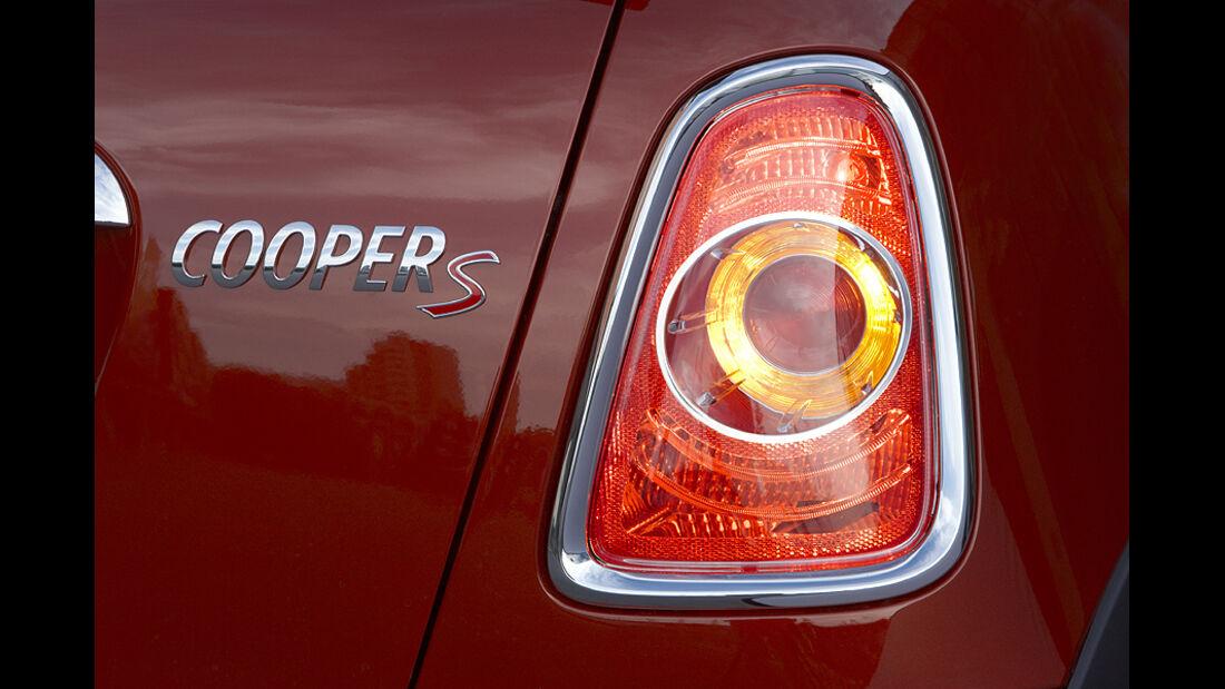 Mini Facelift, Mini Cooper S, Rücklicht