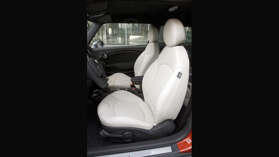 Mini Facelift, Mini Cooper S, Sitze