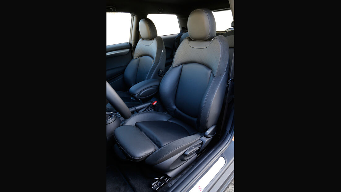 Mini, Fahrersitz
