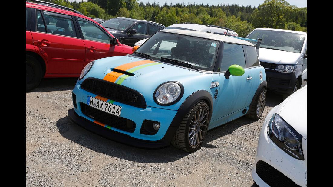 Mini - Fan-Autos - 24h-Rennen Nürburgring 2017 - Nordschleife