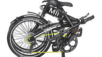 Mini Folding Bike, gefaltet