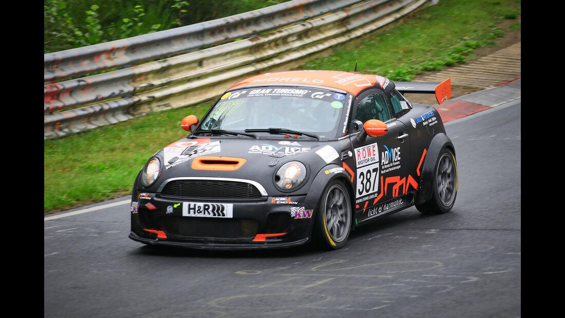 Mini JCW Coupe - Startnummer #387 - SP2T - VLN 2019 - Langstreckenmeisterschaft - Nürburgring - Nordschleife