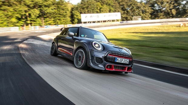 Mini JCW GP, NŸrburgring