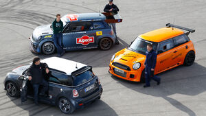 Mini JCW GP, Schirra- Mini JCW GTS, Schirra -Mini, Frontansicht