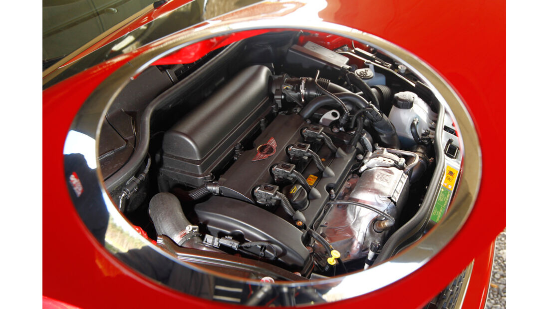 Mini John Cooper Works Cabriolet, Motor