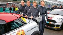 Mini John Cooper Works Coupe Endurance, Jürgen Schmarl, Ralf Mertin, Henrik Vieth, Anja Wasserteufel, Nürburgring