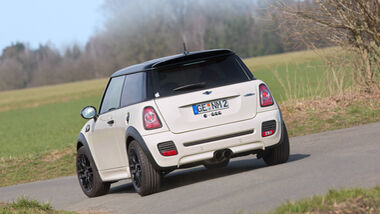 Mini John Cooper Works, Exterieur
