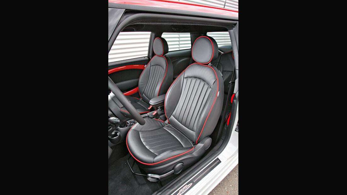 Mini John Cooper Works, Fahrersitz, Sitze