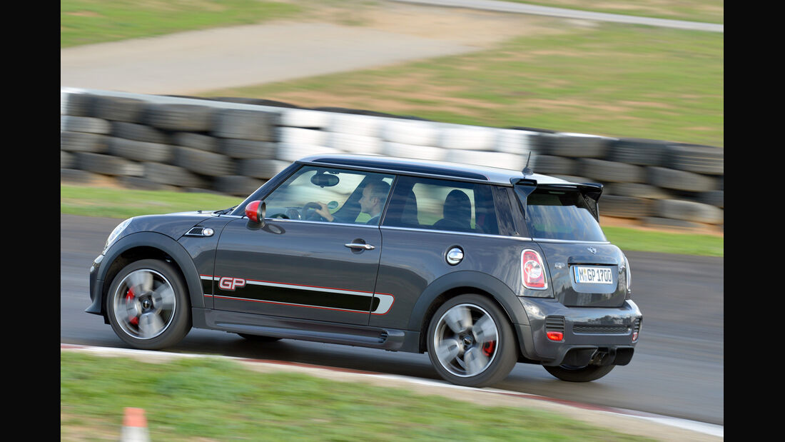 Mini John Cooper Works GP, Heckansicht