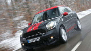 Mini John Cooper Works Paceman, Frontansicht