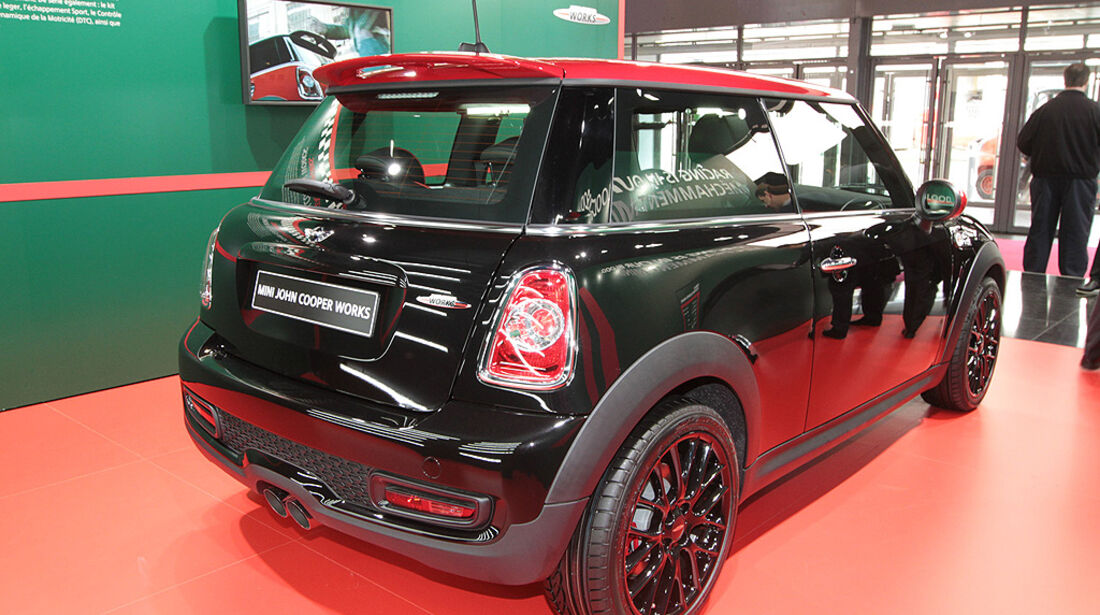 Mini John Cooper Works, Paris 2010