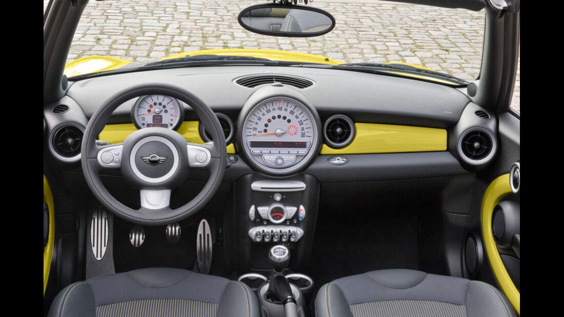 Mini Kaufberatung, Cockpit