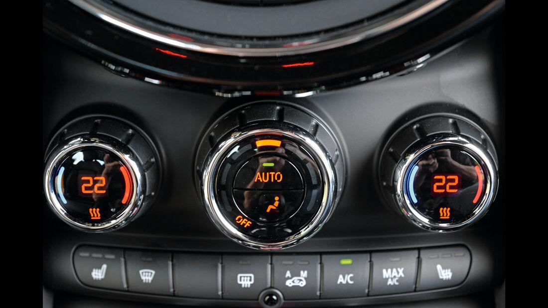 Mini, Klimaanlage, Bedienelemente