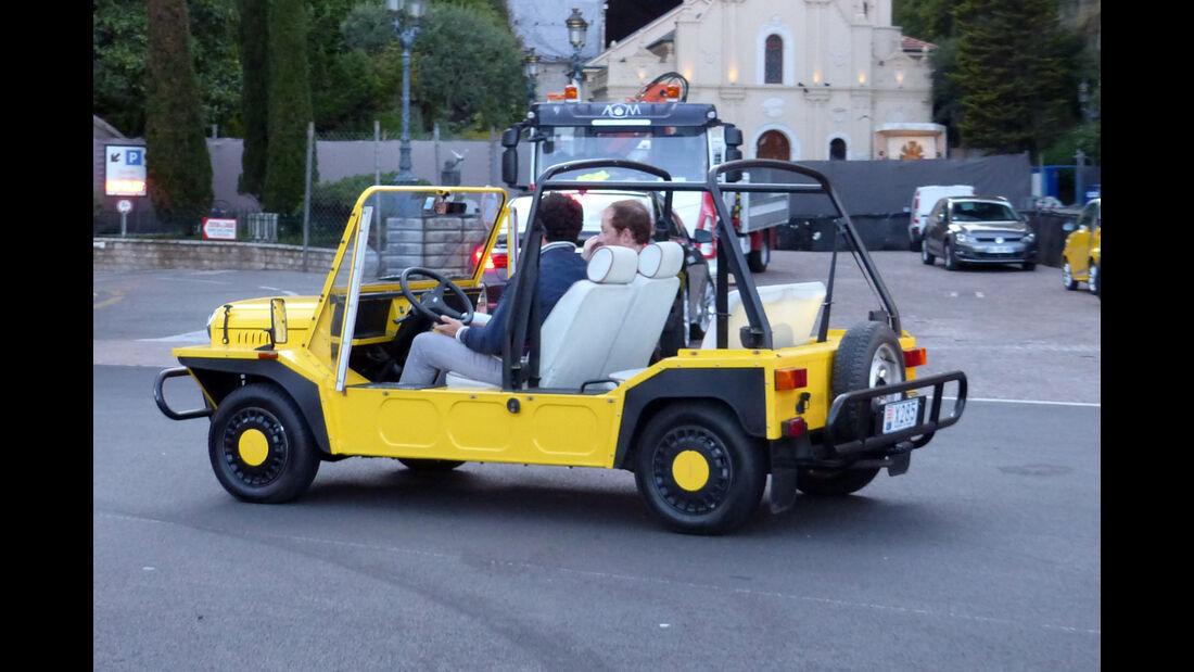 Mini Moke -  Carspotting - Formel 1 - GP Monaco 2015