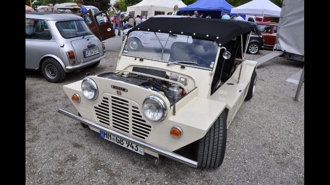 Mini Moke mit Opel-Motor