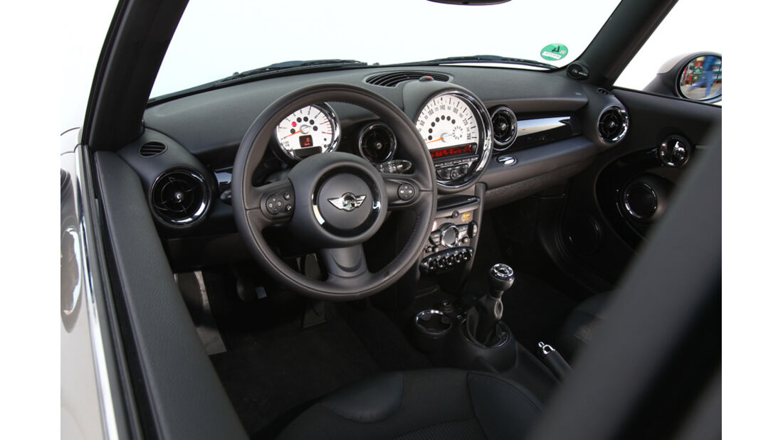 Mini One, Cockpit