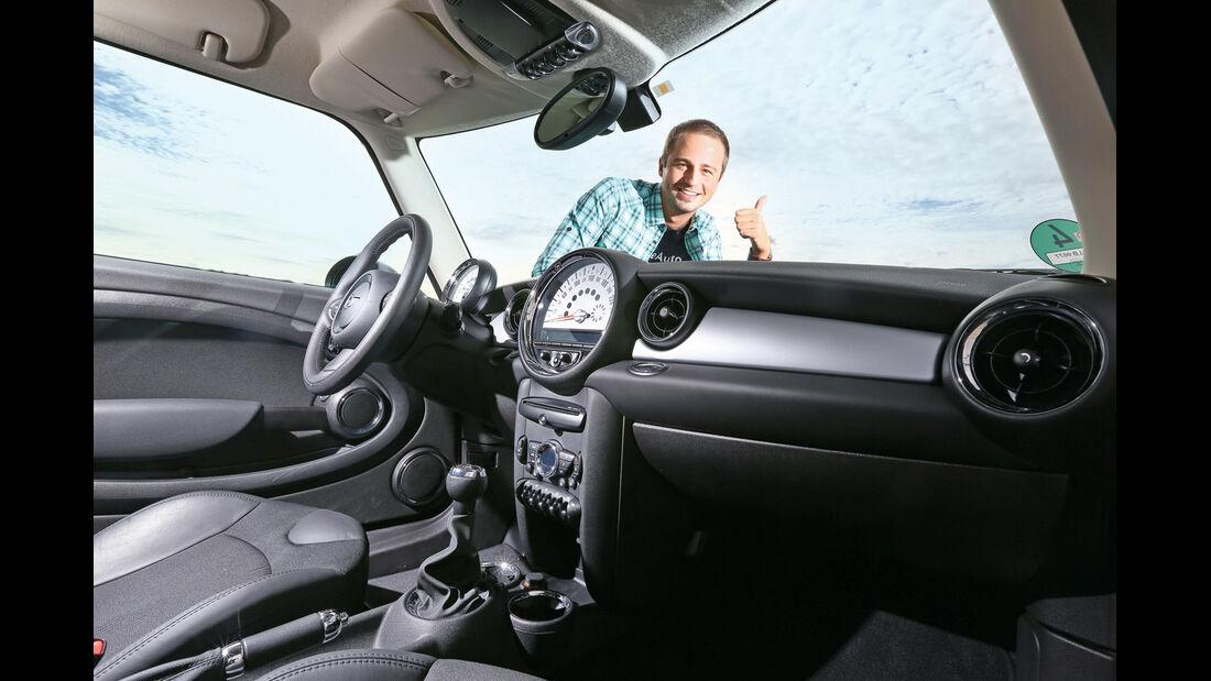 Mini One, Cockpit, Lenkrad