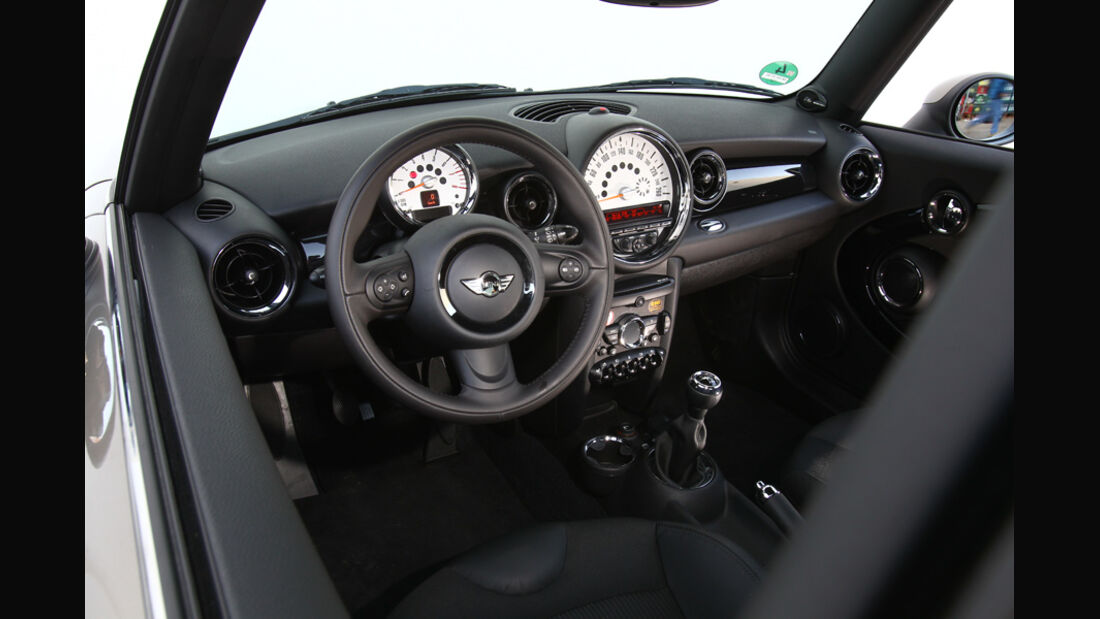 Mini One, Cockpit