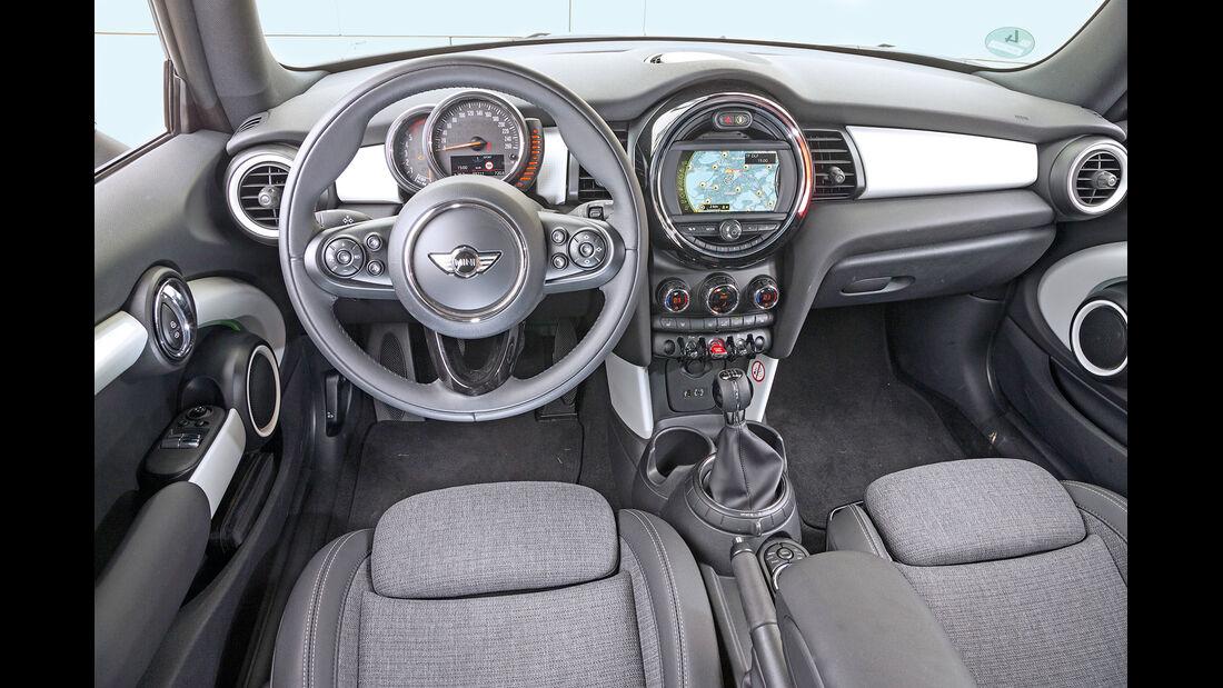 Mini One D, Cockpit