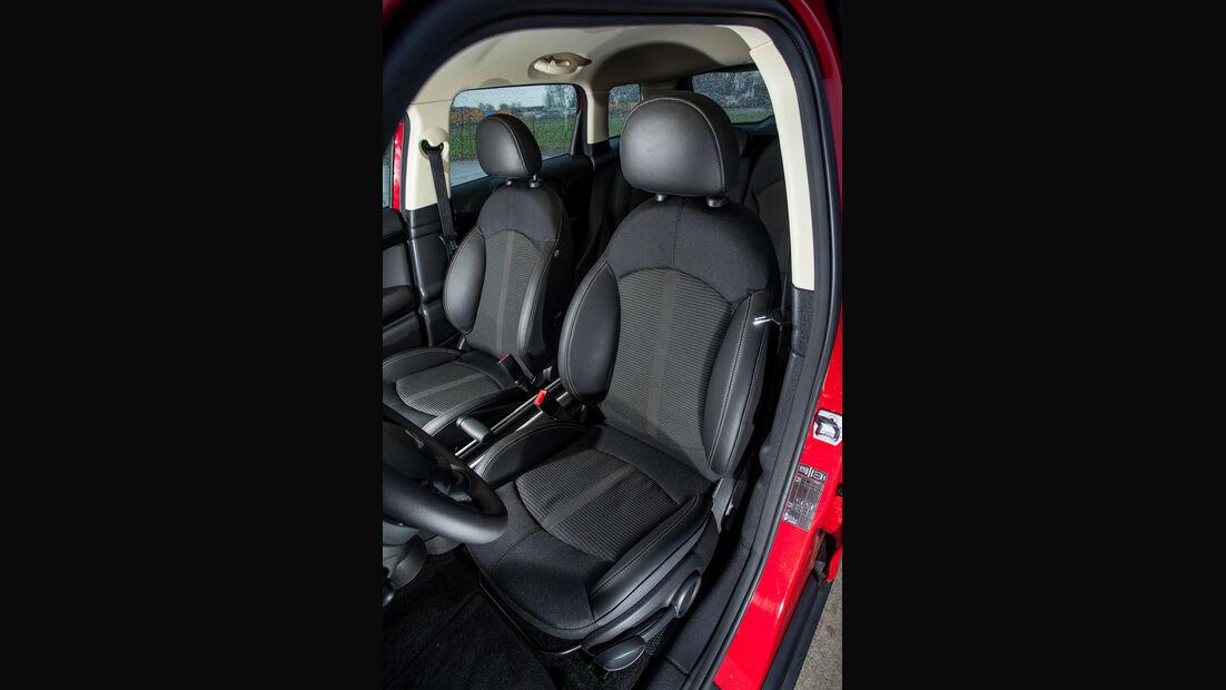 Mini One D Countryman, Fahrersitz