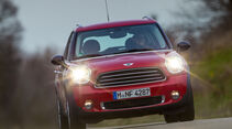 Mini One D Countryman, Frontansicht