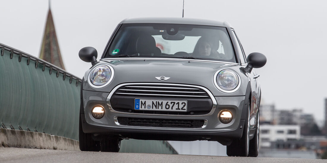 Mini One D, Frontansicht